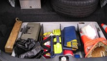Organized Vehicle Trunk
