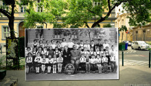 Old Overlay Photos of Budapest, Hungary