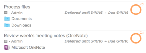 OmniFocus Application Shortcuts in Task Notes